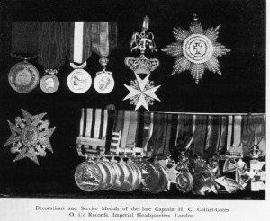 Collier Gates medals