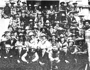 Regina Sakatchewan volunteers 1914