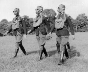 1936 gas training Yorkshire