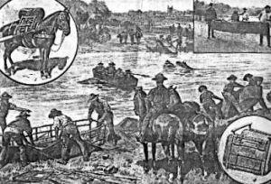 Morgan pack saddle