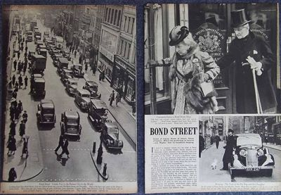 Bond Street London 1939