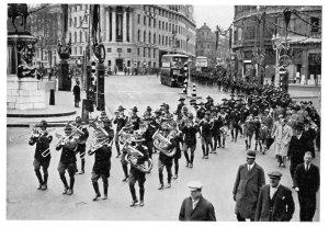 Annual Parade Trafalgar Square London Nov 1935