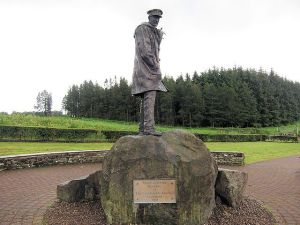 1B Statue Col Stirling Hill Row Scotland