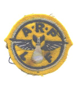 Frontiersmen ARP badge