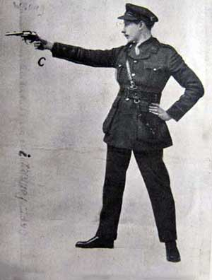 5 Pollard with pistol