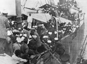 2 Komagata Maru 1914 Library and Archives Canada PA 034014 LAC