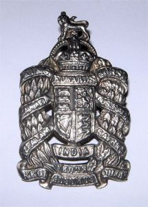 1 King Edward's Horse badge