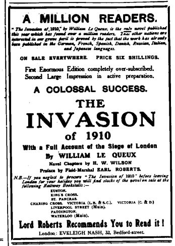 1 19060730 Invasion advert