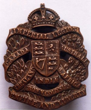 11 Imperial Legion badge