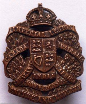 11 Imperial Legion badge