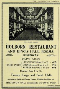 2 19260417 Holborn restaurant ILN